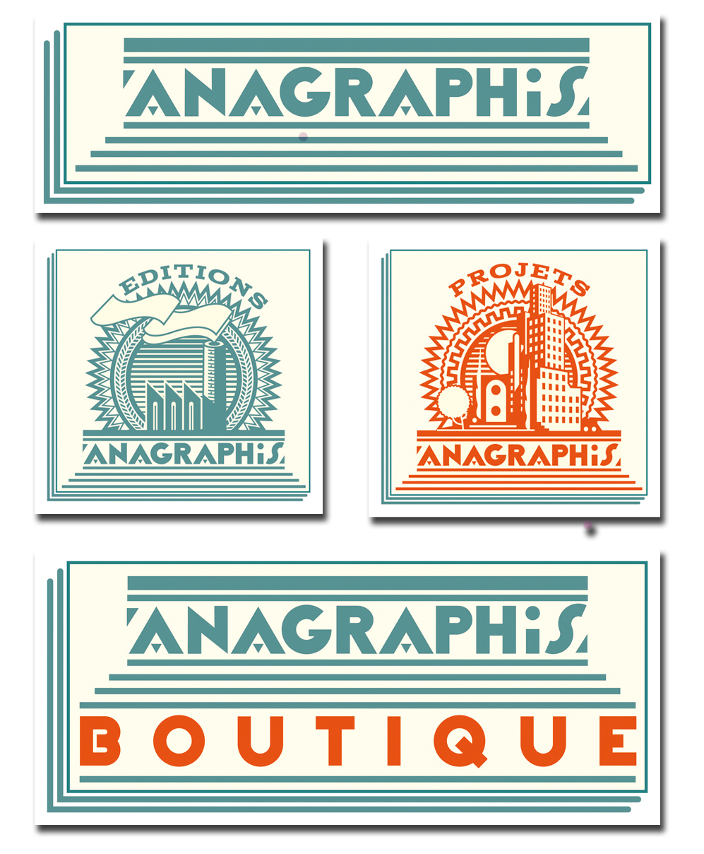Planche Anagraphis logos